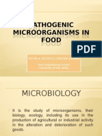 Pathogenic Microorganisms in Food
