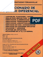 Solucionario de calculo diferencial Grandville