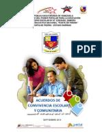 Acuerdos de Convivencia Escolar y Comunitaria