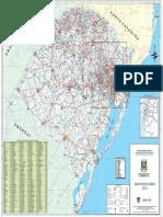 Mapa das estradas do RS - DAER