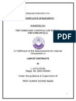 85350469 Contract of Bailment