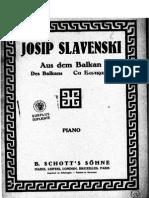 Slavenski - Des Balkans