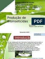 produção de bioinseticidas