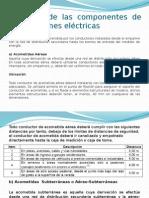 Ubicación de Las Componentes de Las Conexiones Eléctricas