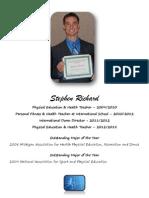 Stephen Richard Resume 2015