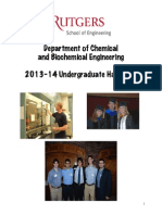 Chemical Engineering Curriculum Handbook