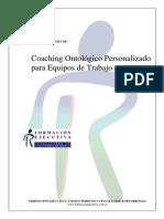 Coaching Personalizado Para Equipos de Trabajo
