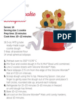 Flower Cookie Bouquet Recipe