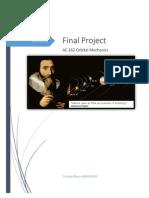 Final Project Orbital Mechanics Enrique Blanco