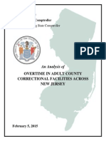 Mercer County corrections Report