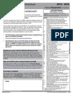 2015-2016 FAFSA on the Web Worksheet