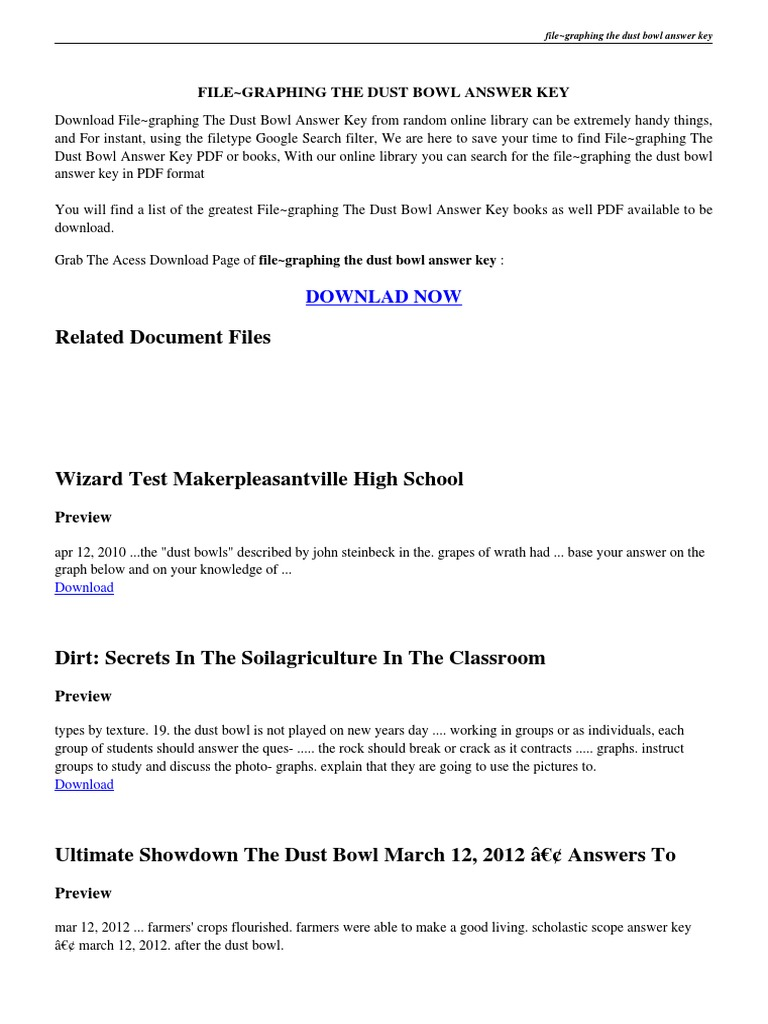 dust bowl essay expository essay titles topics for a expository  graphing the dust bowl answer key dust bowl