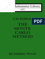 SOBOLThe Monte Carlo Method