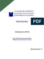Introducción a STATA - Facultad de Ciencias Sociales2