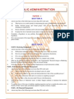 Public-Administration Previous Paper 1985