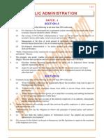 Public-Administration Previous Paper 1989