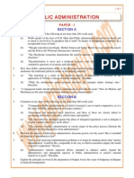 Public-Administration Previous Paper 1993