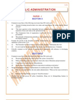 Public-Administration Previous Paper 1999