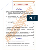 Public-Administration Previous Paper 2000