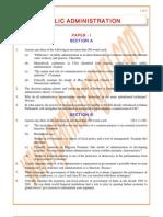 Public-Administration Previous Paper 2001