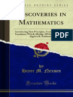Discoveries in Mathematics