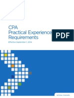 CPA Practical Experience Requirements