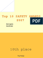 top 10 safety awards 2007