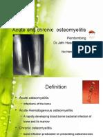 Acute and Chronic Osteomyelitis