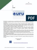 Concurso UFU 2014 - TA 089/2014 - comentários das provas 2015 - 08-02-2015