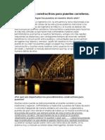 Proceso Constructivo en Puentes
