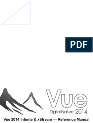 Vue 2014 Reference Manual   Copyright   License