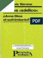 VARONE, François. El Dios Sadico - Ama Dios el sufrimiento.pdf