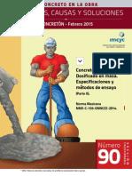 Concreto hidráulico Dosificación en Masa Especificaciones y Metodos de Ensayo parte II NMX-C-155-ONNCCE-2014 .pdf