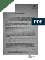FSO Response CIE RFR