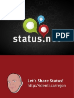 Whats Your StatusNet 2.0 (Updates like Identi.ca)