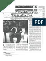 Manajemen Pemsaran Artikel NU Milk Tea