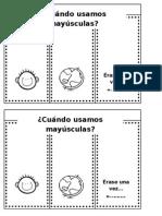 Cuaderno Interactivo del uso de mayusculas