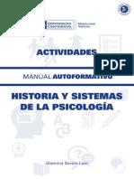 Historia y Sistemas de La Psicología Actividades