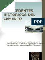 1.0 Historia Del Cemento.