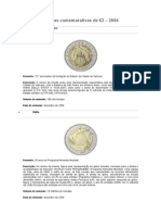 Moedas Comemorativas de 2 Euros - 2004