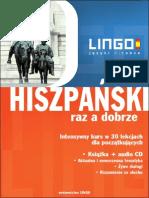 Hiszpanski Raz a Dobrze eBook LINGO