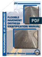 Flexible Pavement Distress Identification Manual (2011)