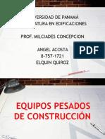 Equipos Pesados de Construcción