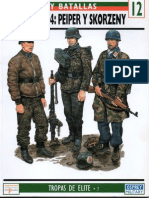 Revista - Ejercitos y Batallas 12 - Ardenas 1944 - Peiper y Skorzeny