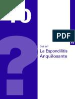 Espondilitis alquilosante