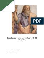 Comentarios de Platón