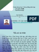 Vietnam 2.53:Tổ chức lớp viết báo khoa học Y khoa đăng trên tạp chí quốc tế (6)