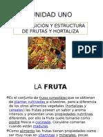 Unidad Uno Frutas y Hortaliza