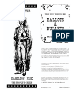 Boot Hill - Bullets & Ballots