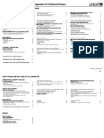 Integrated Management of Childhood Illness Flip Chart